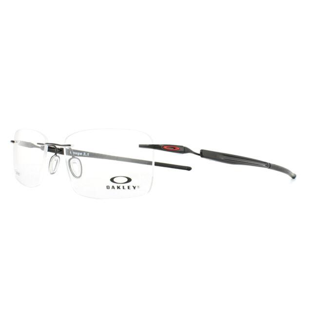 a760295d0a Oakley Glasses Frames Gauge 3.1 OX5126-04 Polished Black