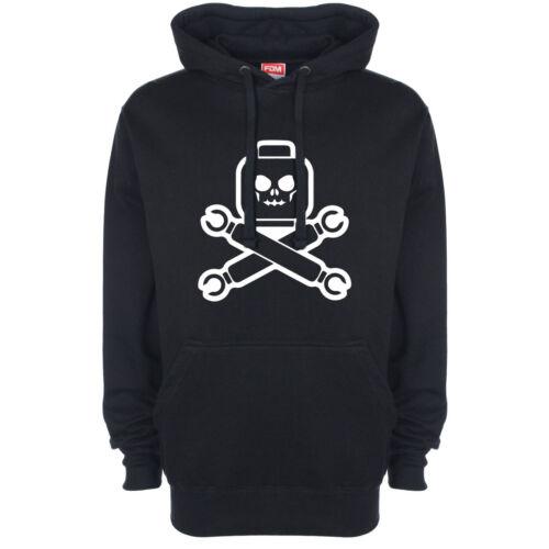 Lego Pirate Skull And Crossbones Logo Hoody Hoodie Hooded Top