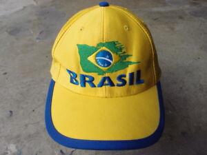 9c3baebfa5b Vintage 1998 France World Cup Final Team Brasil Snapback Hat Cap ...