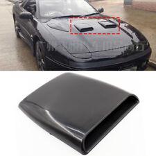 Black Universal Car Air Flow Intake Hood Decorative Scoop Vent Bonnet Cover Fits 2009 Silverado 2500