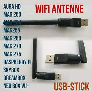 WLAN-WiFi-STICK-ADAPTER-MAG-Iptv-Dreambox-Skybox-Antenne