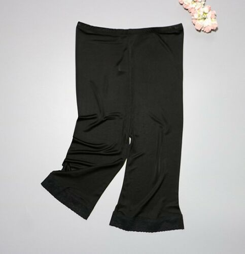 "Women/'s 50/% Silk 20/"" Length Lace Pettipants Slip Pants Bloomer Knickers SG363"