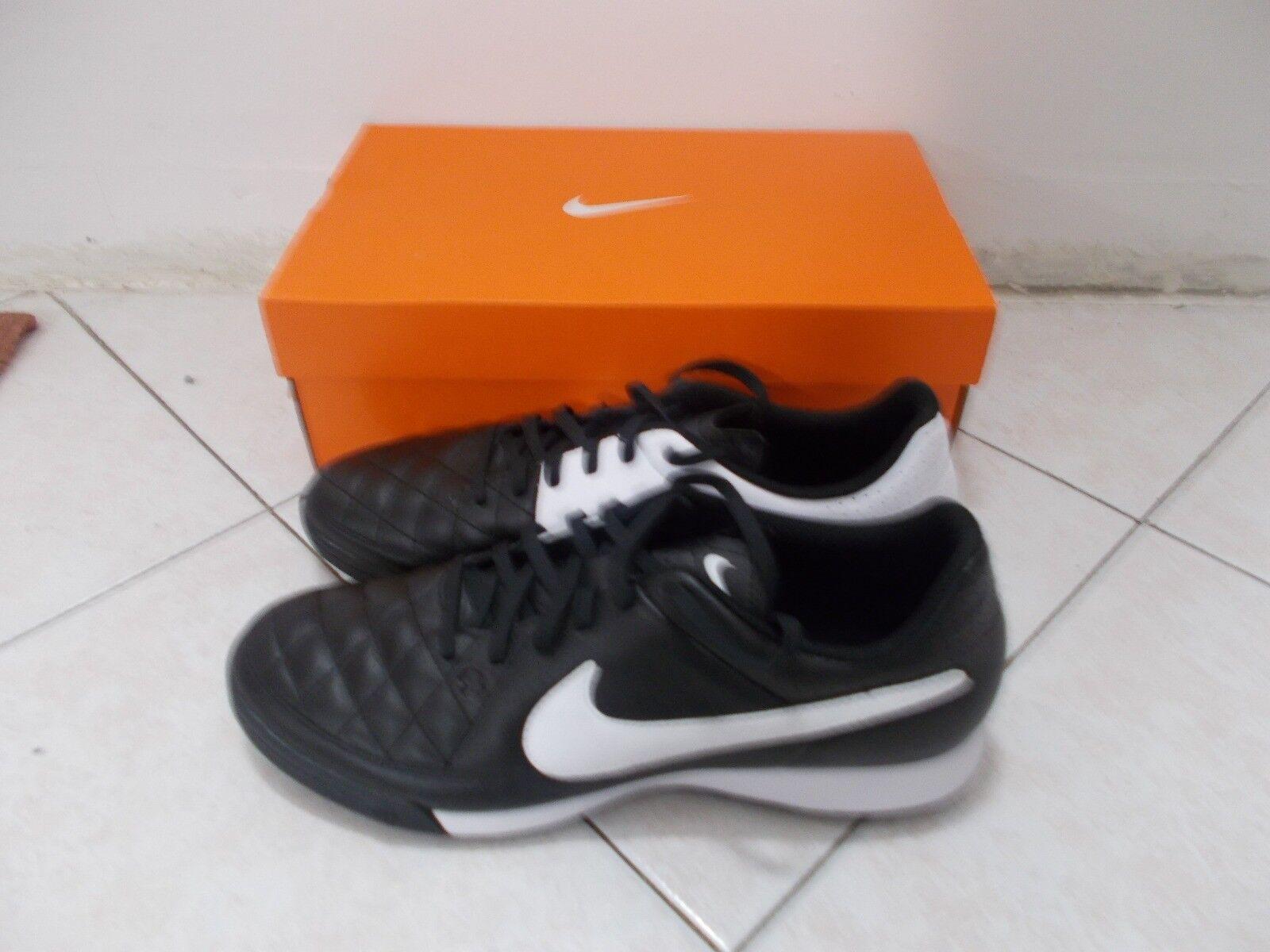 Zapatos calcetto originali Nike - - - nero bianco 45 NUOVE a6f3ae