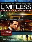 Limitless Unrated 2 Discs Includes Digital Copy 2011 Blu Ray