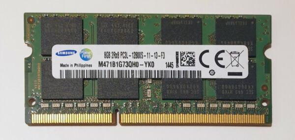 8gb Samsung Ddr3l 1600mhz Pc3l-12800s Laptop Sodimm Ram Memory 1.35v 204 Pin Qh0
