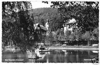 AK, Bad Sooden-Allendorf, Partie am Schwanenteich, 1960