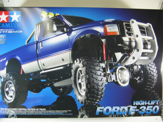 58372 Tamiya 1/10 High-Lift R/C  FORD F350   Off Road Truck Pickup  4X4  4WD