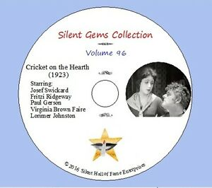 DVD-034-Cricket-on-the-Hearth-034-1923-Classic-Silent-Drama-based-on-Charles-Dickens