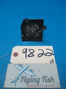 Free Postage Image Is Loading Republic Gyro Horizon Comp Source Selector Valve Switch