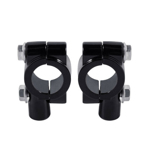 """8mm Thread 7//8/"""" 22mm Handle Bar Rear View Mirrors Mount Holders Adapters Clamps"""