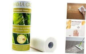 "Bulk Reusable Bamboo Paper Towels - 20 Sheets Each (11"" x 12"") Washable,"