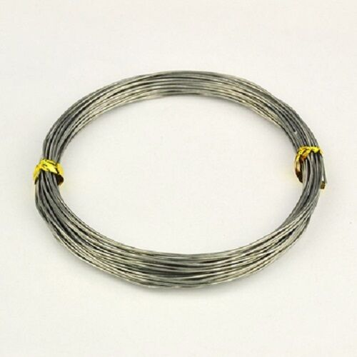 Craft Jewellery Various Colours Aluminium Wire 1mm 3E 10 METERS