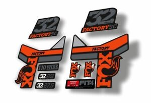 Stealth Step Cast Decal Kit FOX Decal Kit for 32 Step-Cast Forks