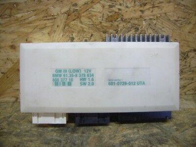 BMW e39 e38 Module de base dispositif de commande GM III 3 Low GM Dispositif de commande 8378634