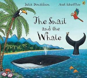 NEW-The-Snail-And-the-Whale-By-Julia-Donaldson-Paperback-Free-Shipping