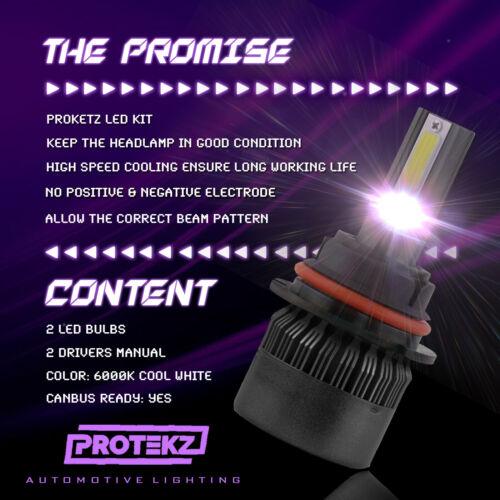 LED Headlight Kit H11 6000K White LowBeam CREE Bulb for DODGE RAM 1500 2009-2012