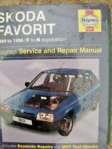 skoda favorit workshop manual ebay rh ebay co uk skoda favorit annual sales skoda favorit user manual