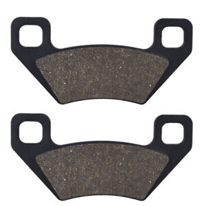 Front Rear Brake Pads for Arctic Cat 400 500 700 ATV TBX 650 Polaris 300 Hawkeye