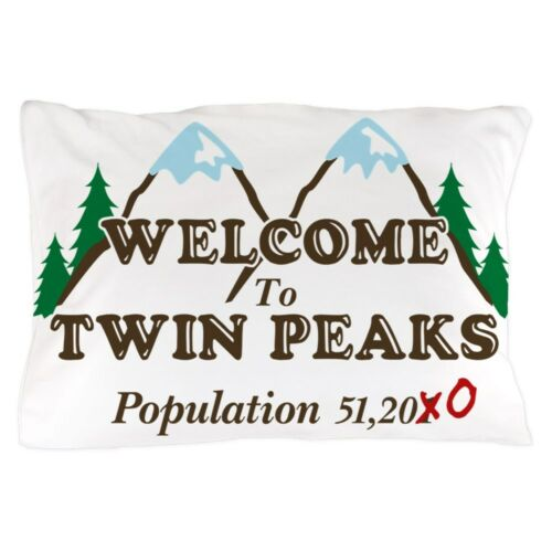 1174600245 CafePress Welcome To Twin Peaks Population Pillow Case