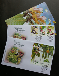 SJ-Malaysia-Medicinal-Plants-IV-2018-Fruits-Food-Vegetables-Flower-Tree-FDC