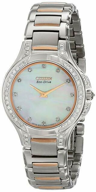 Femme Citizen EX1166-52D la Signature Collection Eco-Drive Fiore watch