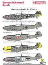 Techmod Decals 1/72 MESSERSCHMITT Bf-109E-3 Fighter