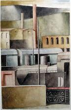 Marcello Scuffi, acquarello su cartoncino 38x58.