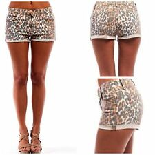 Joe's Jeans Wild Animal Leopard CUT OFF  MINI Shorts Size 28 BNWT MSRP $138