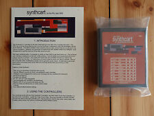 Atari 2600 Synthcart PAL Keyboard Controllers Synth Cart Video Game Music VJ DJ