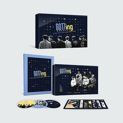 GOT7 - GOT7ING DVD 3DISC+Photobook+Photo Postcard+Extra Photocard Set