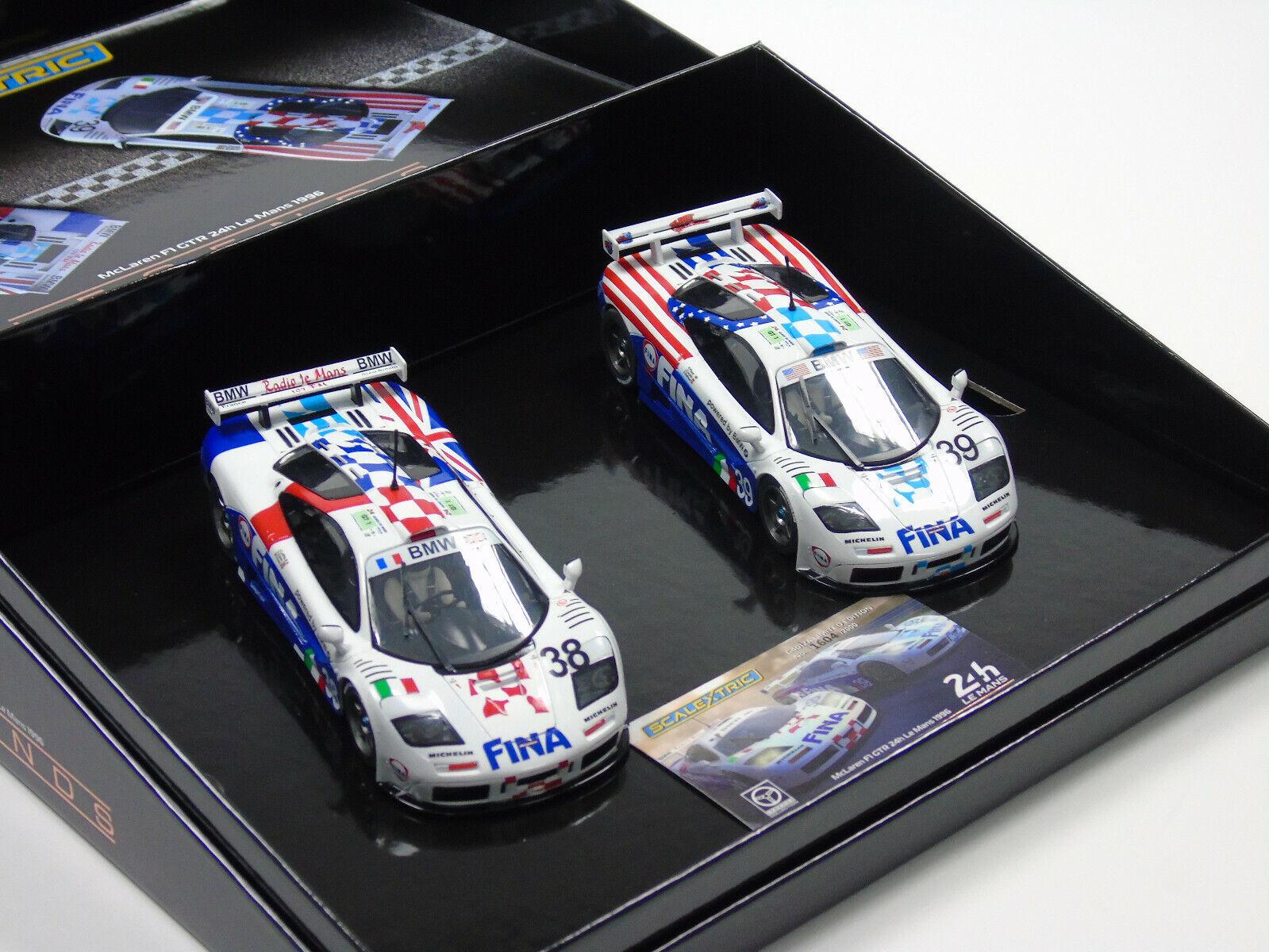 C4012a Scalextric Mclaren Mclaren Mclaren F1 GTR – Lemans 24 1996 Doble Pack 1  3 2 Escala  Ven a elegir tu propio estilo deportivo.