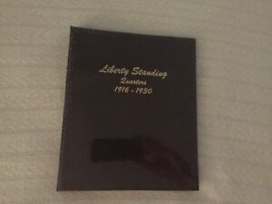 Dansco-Coin-Album-7132-For-Liberty-Standing-Quarters-From-1916-1930-NEW