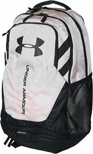 UNDER ARMOUR Hustle 3.0 Backpack Pink White - OS New
