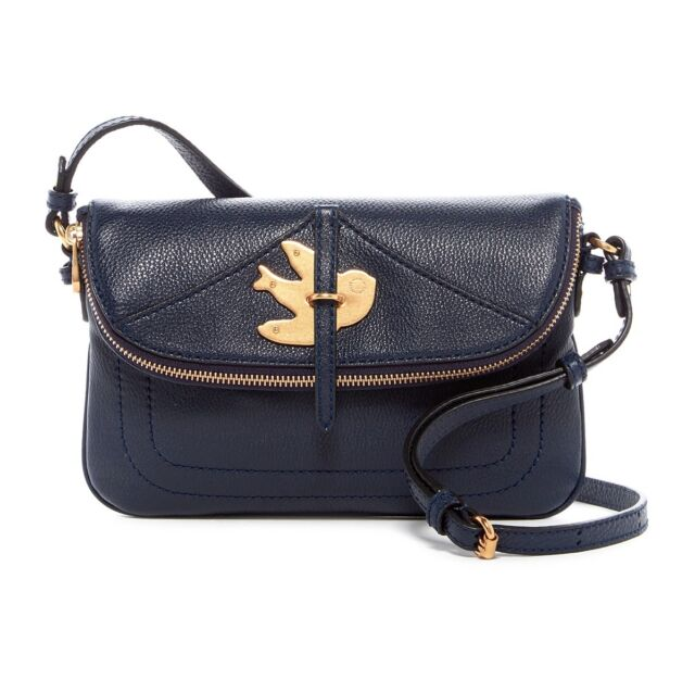 21dd5336ff52 Marc Jacobs Percy Petal to The Metal Crossbody Bag M0009607 Navy Blue