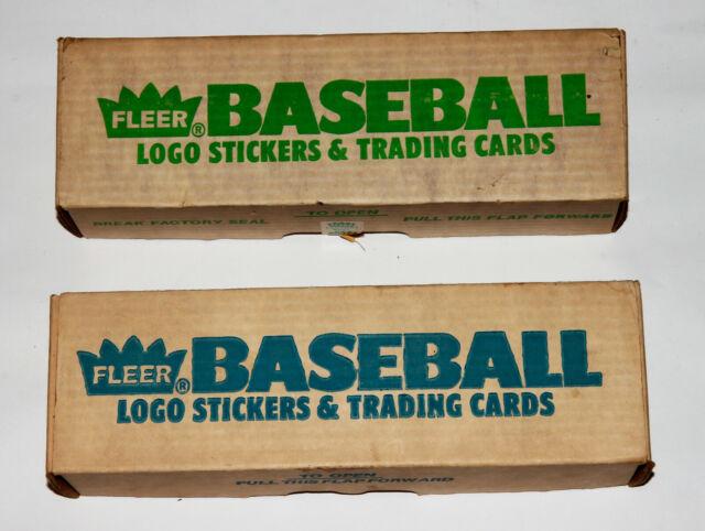 Fleer 1988 Baseball Logo Stickers Trading Cards