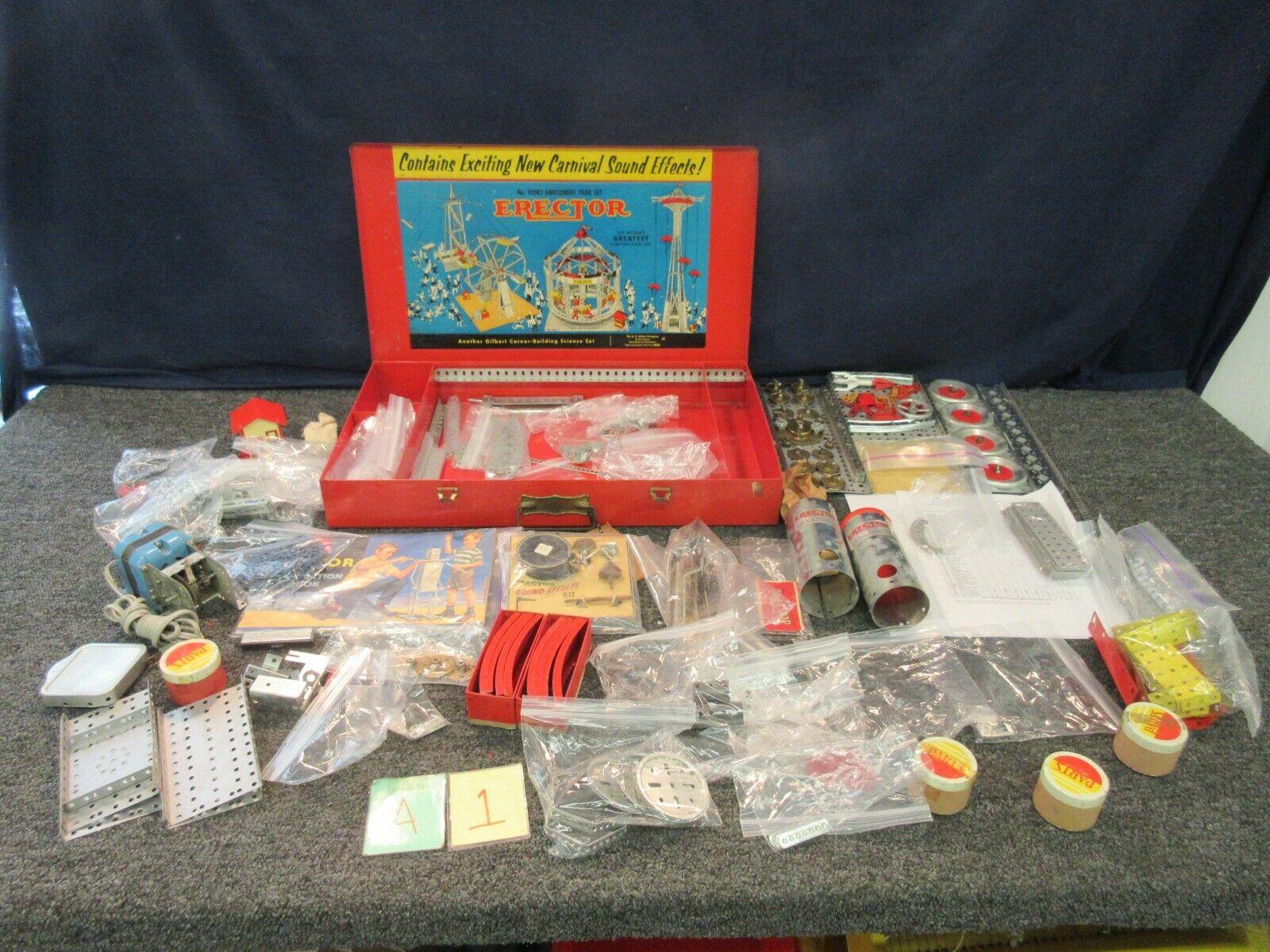 contatore genuino AC Gilbert Vintage Erector giocattolo giocattolo giocattolo Amusement Park Set 10083 autonival completare  all'ingrosso economico e di alta qualità