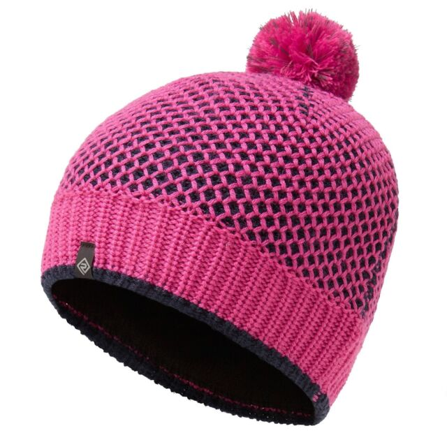 21c41a46d9e Ronhill Womens Bobble Hat Winter Thermal Running Beanie - Pink for ...