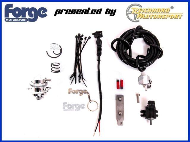 FORGE Blow Pop Off Ventil Kit geschlossen Ford Fiesta ST180 NEU! Blitzversand!!
