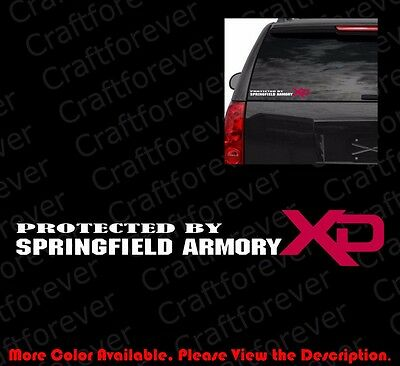 SPRINGFIELD ARMORY XD//XDM//XDS Firearms//Gun Rights//Pistol//Rifle Vinyl Decal FA059