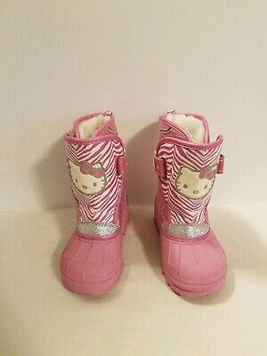 Hello Kitty Girls Lined Winter Boots