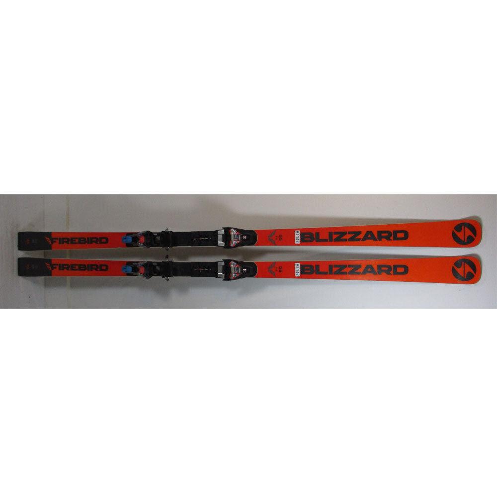 2019 Blizzard Firebird FIS GS Skis 188cm  w Marker Race Xcell 16 Bindings (BT147)  cheap designer brands