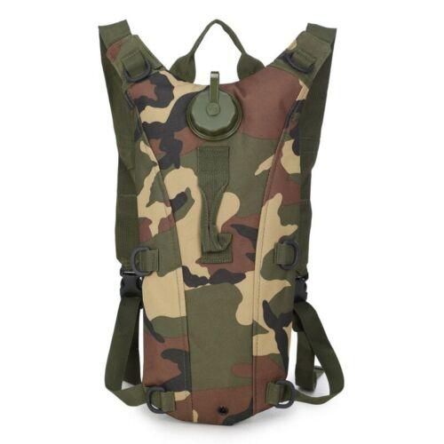 Hydration Pack 3L Tactical Bike Bicycle Camel Water Bladder Bag Backpack Hiking