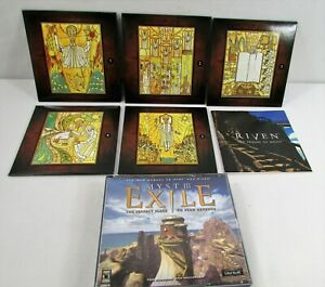 Myst III The Exile & Riven The Sequel to Myst PC Mac Computer Game Lot