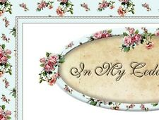 Chic Pink Shabby Vtg Roses Boutique Fashion Ebay Auction Template Listing