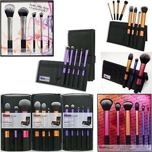 new real techniques makeup brushes core collection