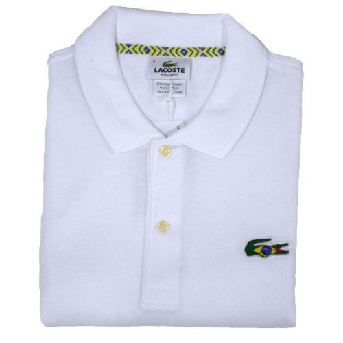 Piqué Brazil Klassiek Poloshirt Mesh Krokodil Lacoste Heren Korte mouw trdshQCx