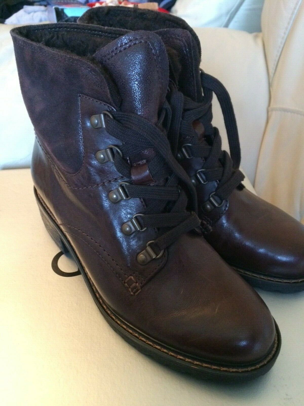 6cd932fab57ef New ancle boots 5.5 Gabor. Men's Ecco Melbourne Cap Toe Tie Leather Black  621704 ...