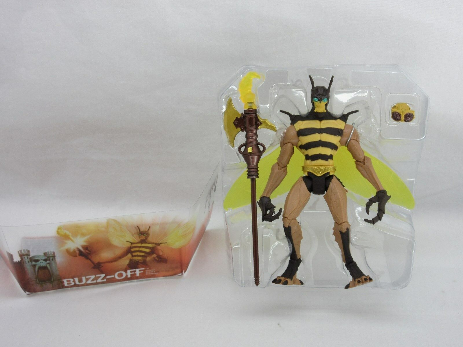 MOTU,BUZZ-OFF,200x,MINT,figure,100% complete,Masters of of of the Universe,He Man 1ff7bf