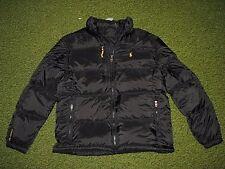 Men's $285 (M) POLO-RALPH LAUREN Black Down Puffer Jacket/ Coat (ski)