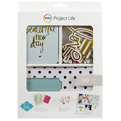 Becky Higgins PROJECT LIFE VALUE KIT-GOLD FOIL (130) PCS 98177